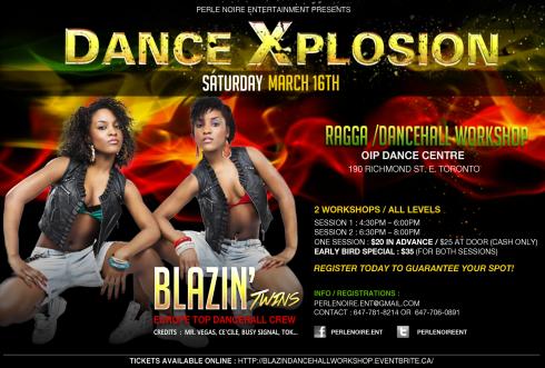 Blazin - Dancers Toronto