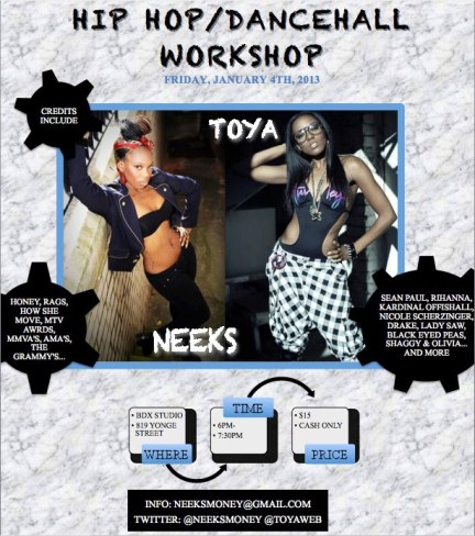 Neeks&Toya workshop