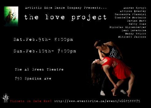 Love Project poster