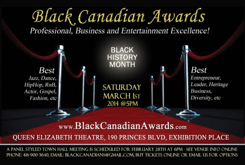 black canadian awards dancers toronto