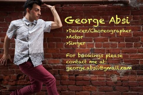 George Absi Dancer Toronto Dance